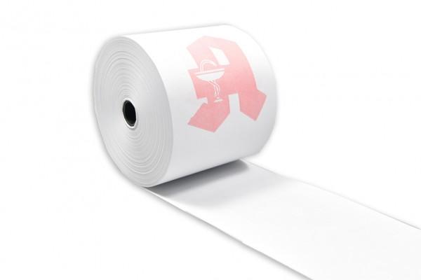 Kassenrollen / Normalpapier 70mm x 60m x 12mm Apotheke Vorderseite VPE/50 Stück