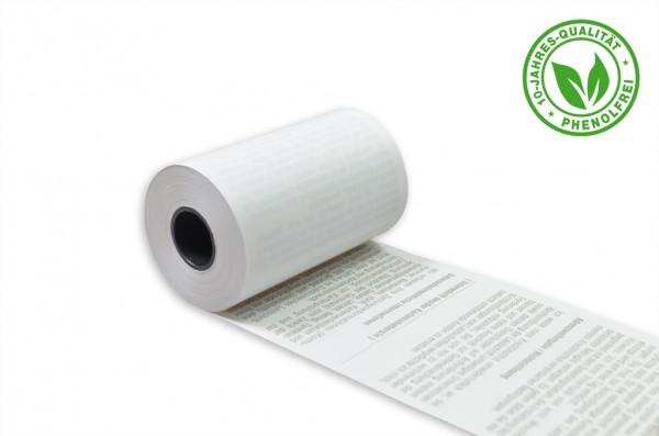 50 Stck. EC Thermorollen 57mm x 9m x 12mm phenolfrei Lastschriftdruck / 4017279961709 / 10775150